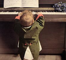 Baby Piano by Christine Anna Wilson