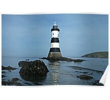 Penmon Point Lighthouse, Anglesey Poster