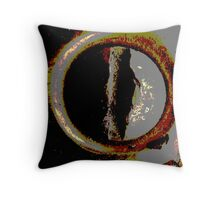 Screw Abstract Throw Pillow