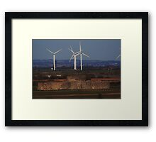 Towers Old and New Framed Print