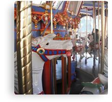 Horse from the carousel  Metal Print