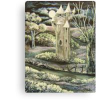 'Rapunzel's Castle' Canvas Print