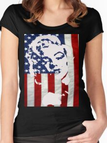 Marilyn USA Women's Fitted Scoop T-Shirt