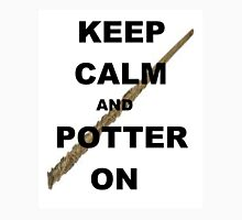 Keep calm and Potter on Unisex T-Shirt