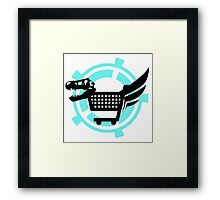 The Poopsmiths Logo Framed Print