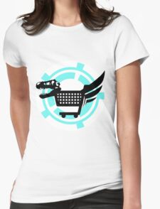The Poopsmiths Logo Womens Fitted T-Shirt