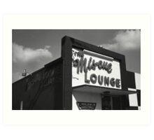 Mis-cue Lounge Art Print