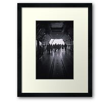 View through the Galaxy Framed Print