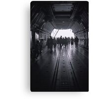View through the Galaxy Canvas Print