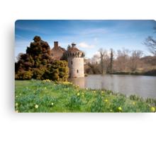 Springtime at Scotney Castle: Kent Metal Print