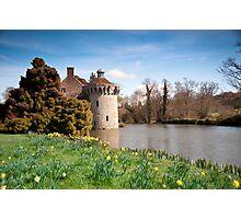 Springtime at Scotney Castle: Kent Photographic Print