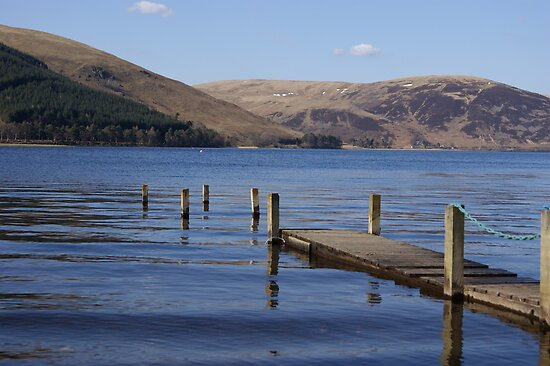 Retired Pier - St Mary's Loch by Sophie MacLeod