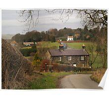 Farm Cottages Poster