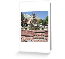 toontown Greeting Card