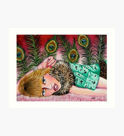 Krystal Simpson Art Print