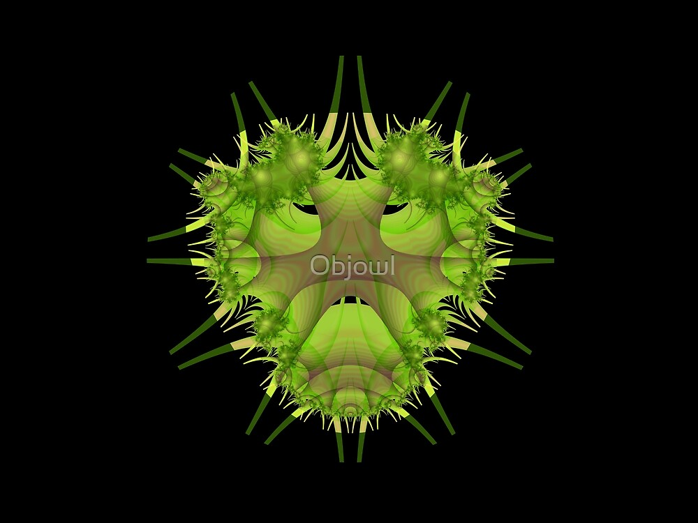 The Green Man by Objowl