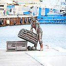 The bronze fisherman by robert murray