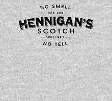 Hennigans Scotch Black Unisex T-Shirt