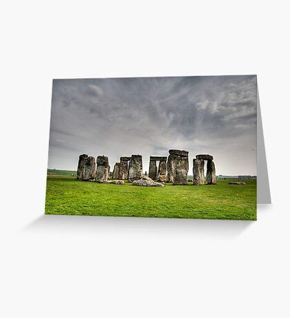 Stonehenge HDR Greeting Card