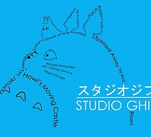 Studio Ghibli by Jason  McNaughton