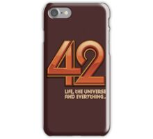Forty-Two iPhone Case/Skin