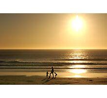 Sunset Profile 2010 Photographic Print