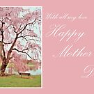 Happy Mother's Day - Meet Me Under The Pink Blooms Beside The Pond 2 by AngieM