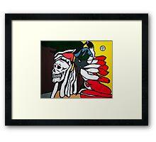 Forgotten Chief Framed Print