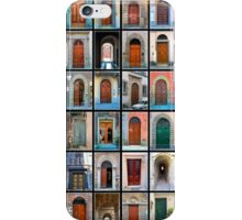 Doors of Florence and Siena iPhone Case/Skin