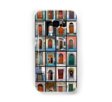 Doors of Florence and Siena Samsung Galaxy Case/Skin