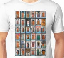 Doors of Florence and Siena Unisex T-Shirt