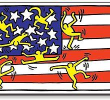 Keith Haring USA by GiulyB