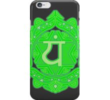 The Heart in Green iPhone Case/Skin