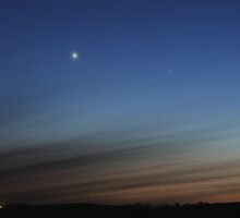Venus and Mercury by Ron Kube