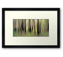 Walk with Nature Framed Print