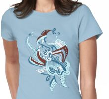 Aqua Womens Fitted T-Shirt
