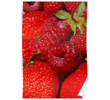 yummy berries Poster