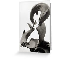 Dolphins Sundial Greeting Card