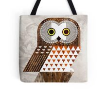 Saw Whet Owl Tote Bag