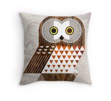 Saw Whet Owl Throw Pillow