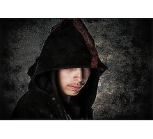 In A Dark Mood Photographic Print