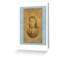 MRS. PETE LOWE Greeting Card