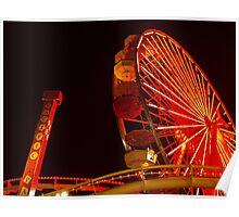 Pacific Ferris Wheel #4 Poster