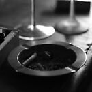 Black & White Ashtray by pepemczolz