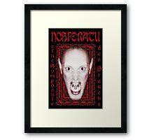 Nosferatu - eine Symphonie des Grauens Framed Print
