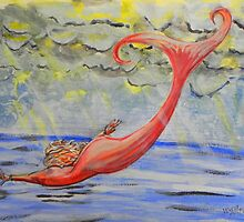 Mermaid Art  by whiteygilroy