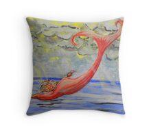 Mermaid Art  Throw Pillow