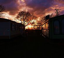 Caravantastic Sunset by Ecohippy