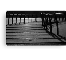 Floating Bridge 3 Canvas Print