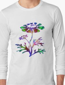 Neon Daisy Long Sleeve T-Shirt